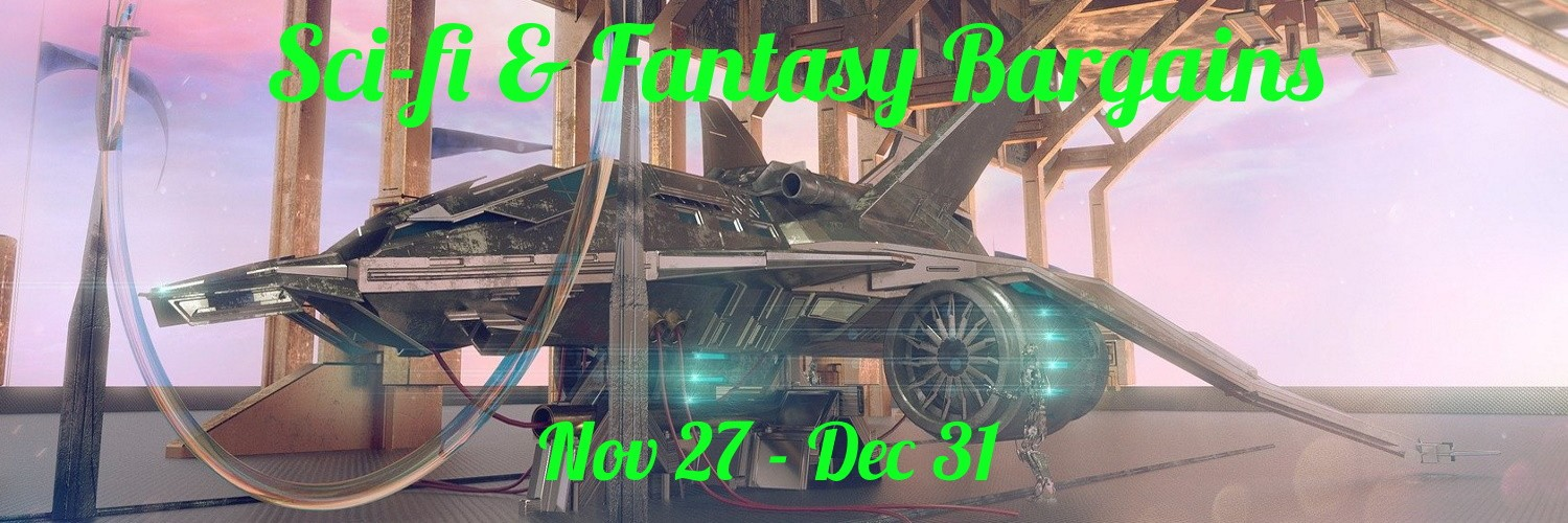 Promotion for Sci-fi and Fantasy Bargain Sale