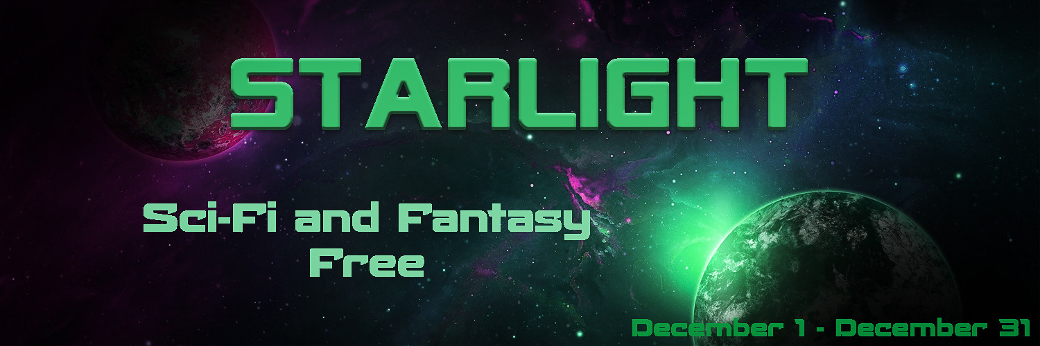 Promotion for Starlight - SciFi and Fantasy Giveaway December